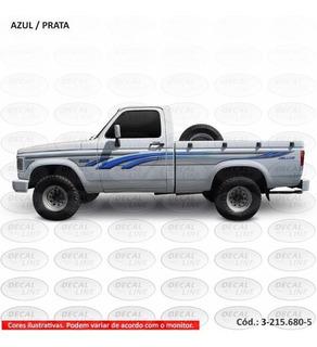 Faixa Auto Adesiva D20 2004 - Cabine Simples