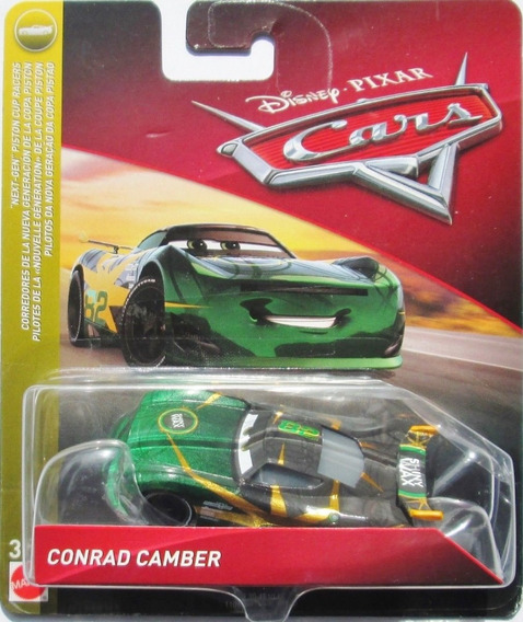 Disney Cars 3 Conrad Camber Next Gen #82 Shiny Wax