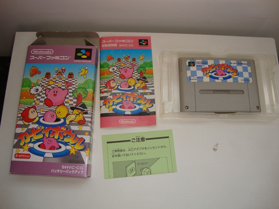 Kirby Dream Course Original Completa Para Super Nintendo