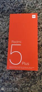 Caixa Redmi 5 Plus - 4gb 64gb - Preto