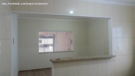 Casa Para Venda Em Tatuí, Jardim Residencial Santa Cruz, 2 Dormitórios, 1 Banheiro, 2 Vagas - 544_1-1391336