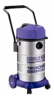 Aspiradora Yelmo As-3350 1600w 50lts Agua Y Polvo Hepa Pce