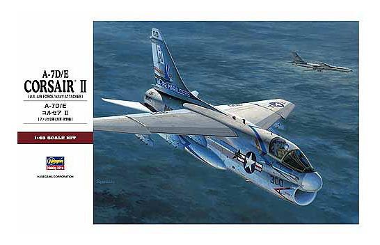 A-7 D/e Corsair Ii 1/48 Hasegawa
