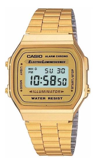 Relógio Casio Unissex Vintage A168wg-9wd