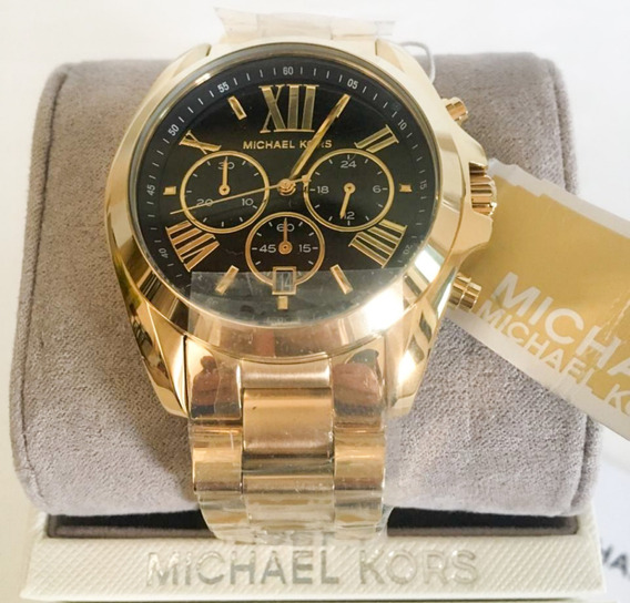 Relógio Michael Kors Bradshaw Gold Mk5739 Original Promoção