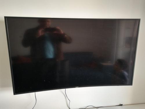 Imagem 1 de 10 de Tv 55 Pol Para Conserto Não Envio Precisa De Reparo