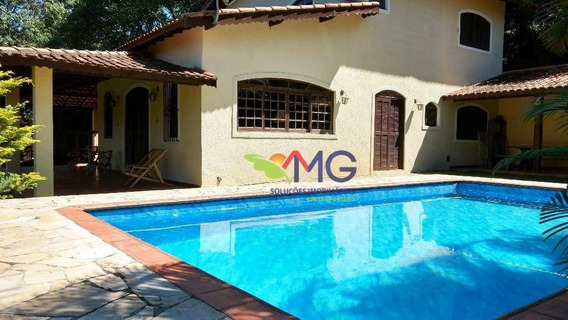 Chácara Com 4 Quartos, 3.150 M² Por R$ 800.000 - Residencial Rancho Maringá Ii - Atibaia/sp. - Ch0031