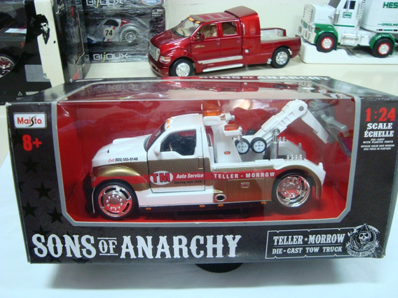 Miniatura F-350 Guincho Sons Of Anarchy 1/24 Maisto #avl384
