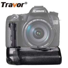 Battery Grip Travor Bg-e14 Bg-1t Canon 70d 80d 12x S/juros