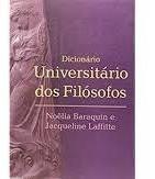 Dicionario Universitario Dos Filosofos - Baraquin