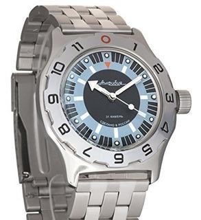 Vostok Amphibia Militar Ruso Mens Reloj Wr 200 M 100927