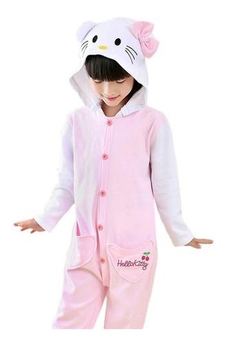 Hello Kitty Gatinha Pijama Macacão Kigurumi - Pronta Entrega