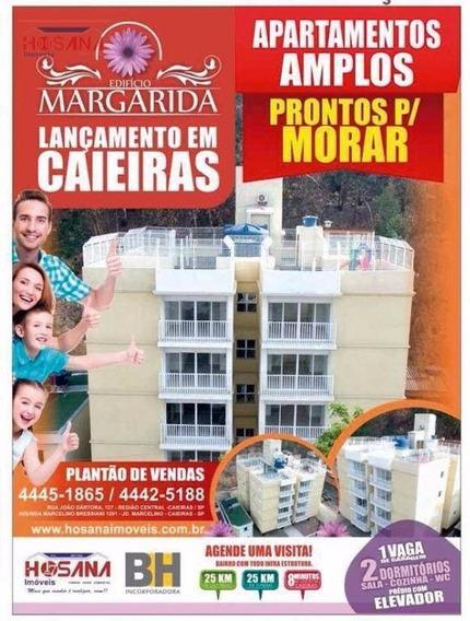 Oportunidade Lançamento Edifício Margarida -predio 100% Pronto Todo Acabado Com Elevador, Financiado. - Ap0069