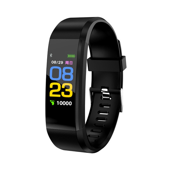 Smart Watch Fitness Activity Tracker Negro