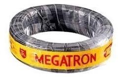 Rolo 100mt Cordão Flexível Paralelo Preto 2x0,75 Mm Megatron
