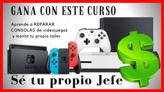 Curso De Reparacion Ps1 Ps2 Ps3 Ps4 Sega Nintendo Y Xbox..!!