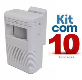 Sensor De Presença Sonoro C/ Excelente Qualidade 10 Unidades