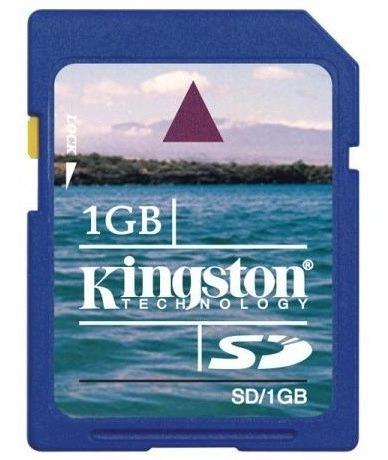 Cartão De Memória Sd 1gb / R001 E