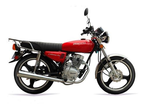 Baccio Fx 125cc Motos Moto Nuevas 0km 2021 + Obsequio Fama