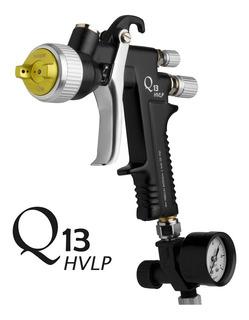 Pistola Para Pintar Soplete Q13 Hvlp 1.3mm Maer Pintumm