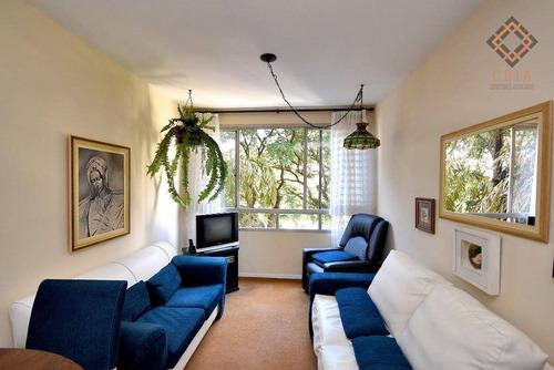 Apartamento Com 3 Dormitórios À Venda, 83 M² Por R$ 1.075.000,00 - Higienópolis - São Paulo/sp - Ap42638