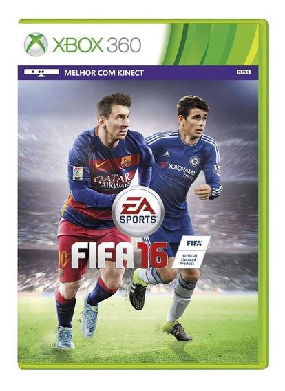 Fifa 16 - Xbox 360 - Usado - Original