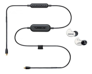 Auriculares Intraural Shure Bluetooth Se 215 Spe-w-bt1