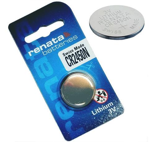 Imagen 1 de 4 de Bateria Pila Renata Cr2450 3v Lithium Original Cr2450n