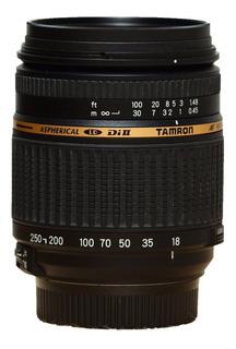 Lente Tamron Af 18-250mm F/3.5-6.3 Para Nikon