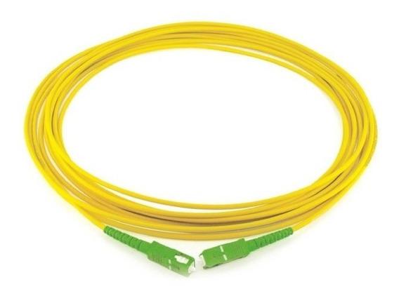 Patch Cord Fibra Optica Sc/apc Monomodo 2 Mts 9/125um 3.0mm