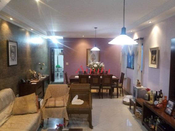 Sobrado Com 4 Dormitórios À Venda, 176 M² Por R$ 650.000 - Parque Oratório - Santo André/sp - So1069