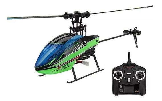 Novo Helicóptero V911s Canais Gyro 2,4ghz 2 Baterias 250