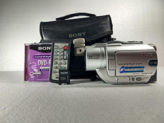 Filmadora Sony Dcr-dvd405 3.0 Mega Pixels
