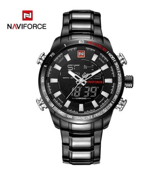 Relógio Masculino Original Naviforce Prova De Água Barato