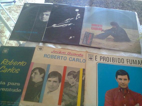 Lps Roberto Carlos 6 Lps 4 Monos 2 Stereos