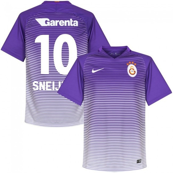 Camisa Galatasaray 3rd 17-18 Sneijder 10 Importada