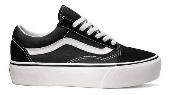 old skool vans plataforma