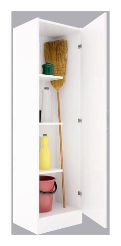 Escobero Orlandi Art407 1.6mts 1 Puerta Blanco