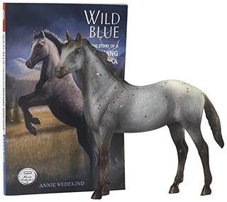 Breyer Classics Wild Blue: Conjunto De Libros Y Juguetes Par