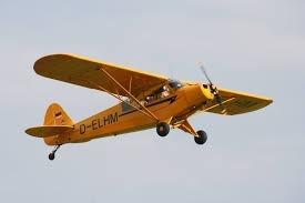 Planta Do Aeromodelo Piper Super Cub Giant