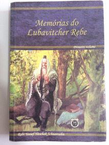 2 Livros Memórias Do Lubavitcher Rebe Vol. 1 E 2