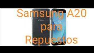 Repuestos Para Samsung A20 Se Vende Completo
