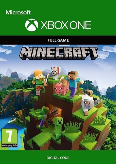 Jogo Xbox One Minecraft (mídia Digital - Código 25)