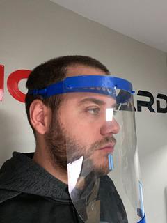 Mascara Protectora Facial Barbijo Barrera Sanitaria Prusa 3d