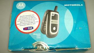 Celular Motorola V237 Antigo Funcionando Chip Tim Gsm