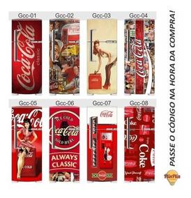 Adesivo Geladeira Coca Cola Completa