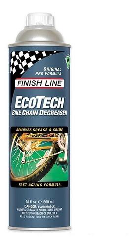 Imagen 1 de 2 de Desengrasante Bicicleta Finish Line Ecotech 600ml (no Spray)
