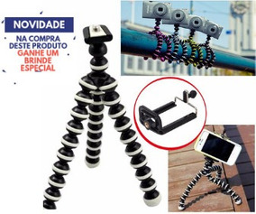 Tripé Flexível Gorilapod Tripod Para Gopro E Celulares 17cm