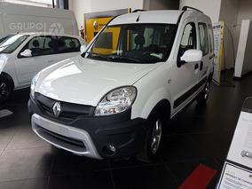 Renault Kangoo Authentique 5p 0km Anticipo, Cuota Burdeos 6