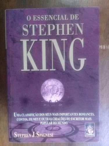 Livro O Essencial De Stephen King Stephen Spignesi